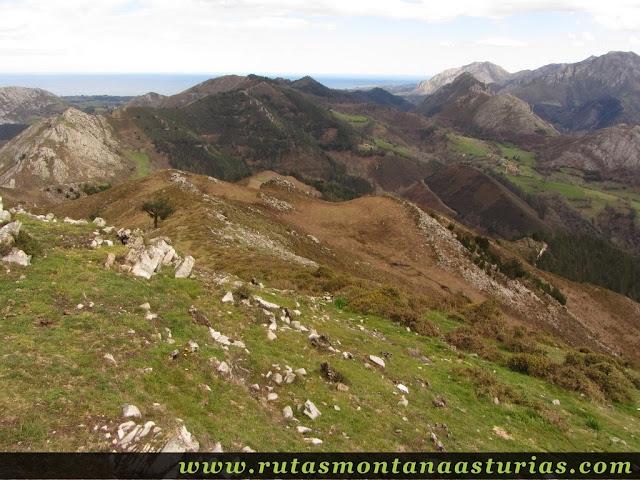 Descenso por arista Pico Moru