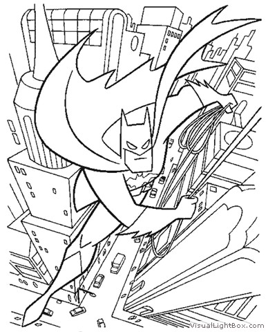 Colorir e Pintar: Desenhos do Batman para colorir