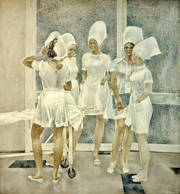 «Медсёстры», Олег Татарников, 1975 г.