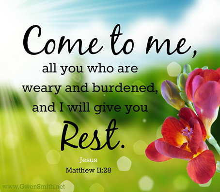 Are you suffering from Weary and Burden?