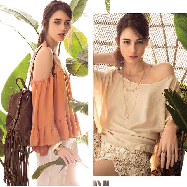 Moda 2017 Mujer. Moda primavera verano 2017 Cuesta Blanca Looks de moda mujer. Moda 2017.