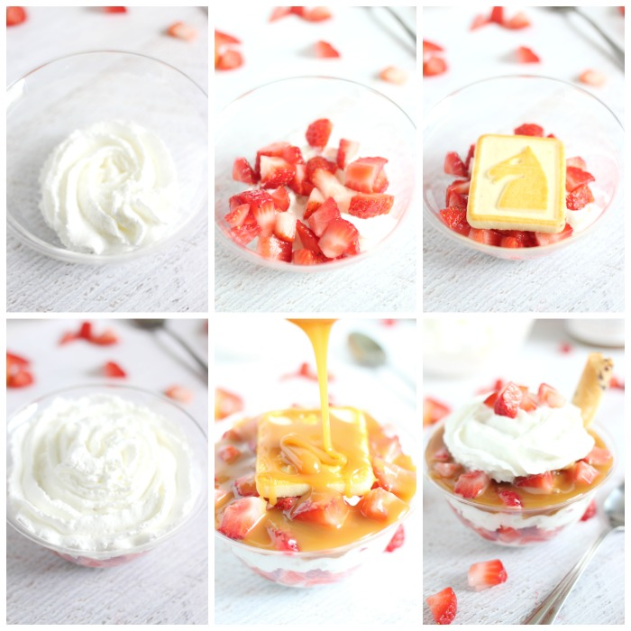 Salted Caramel and Strawberry Parfaits Recipe