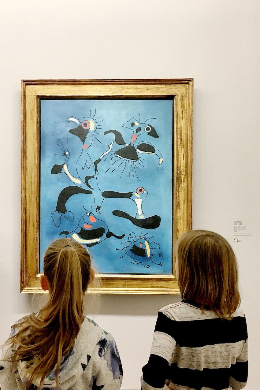 Joan Miro: Vögel und Insekten, 1938