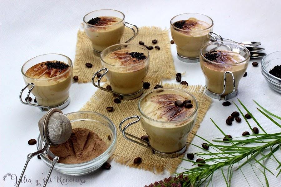 Mousse de café fácil. Julia y sus recetas