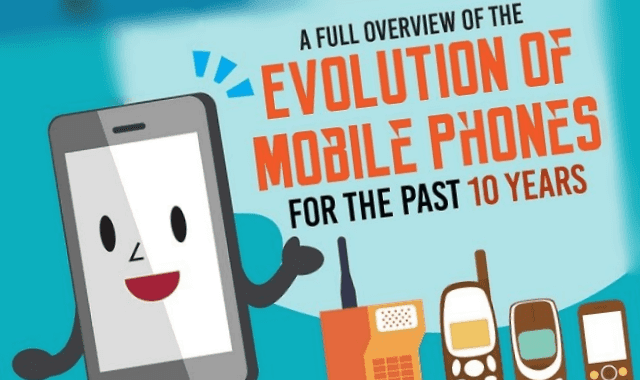 A Full Overview of the Evolution of Mobile Phones For Past 10 Years