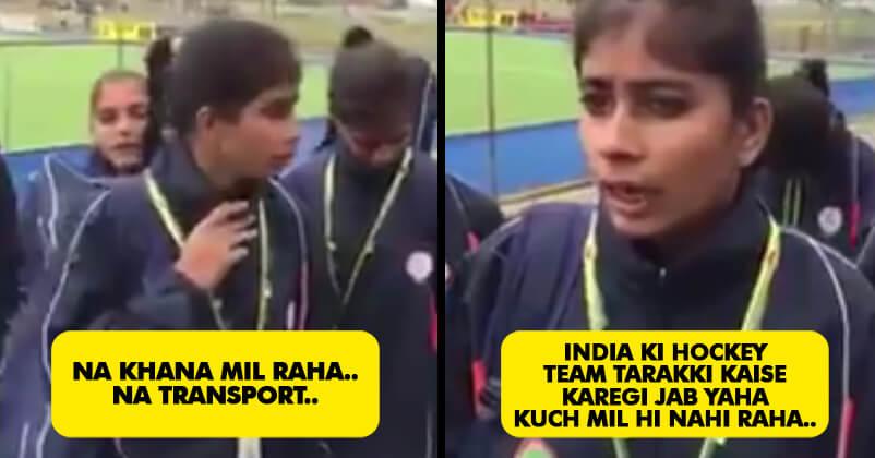 Indian Girl's School Hockey Team