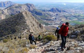 Sierra de Orihuela, MontePinar, Barranco Sendas y Peña de Orihuela