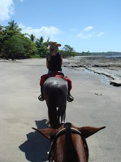 costa rica rantalaukka hevonen ratsastus
