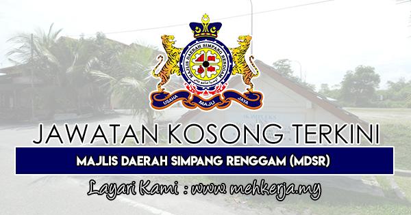 Jawatan Kosong Terkini 2019 di Majlis Daerah Simpang Renggam (MDSR)