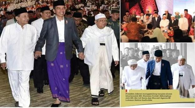Ketua Umum MUI: Indonesia Sangat Beruntung Memiliki Presiden Jokowi