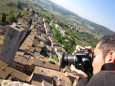 San Gimignano from Torre Grossa Tower