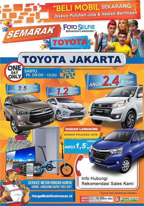 Rekomendasi Sales Toyota PIK (Pantai Indah Kapuk), Jakarta Utara