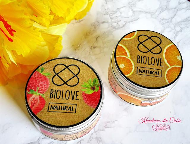 biolove truskawka, pomarańcza, kosmetyki naturalne, naturalna pielęgnacja
