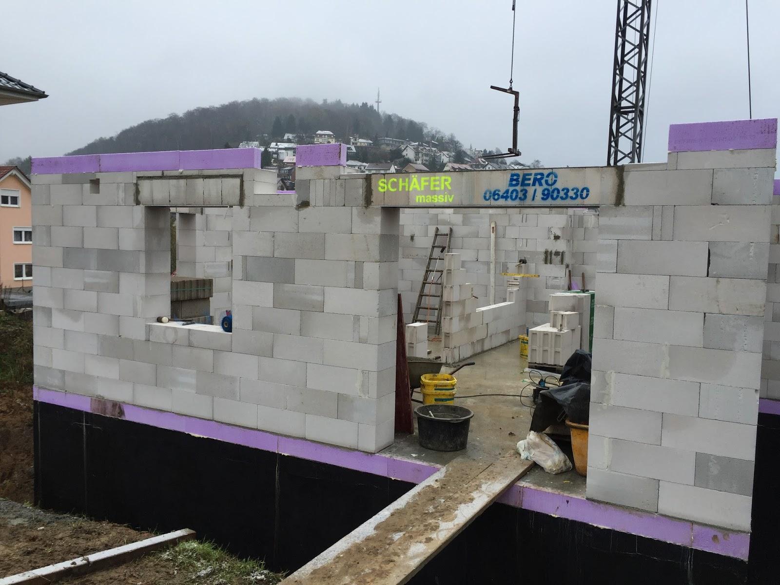 Extrem Katha & Julia bauen ein Haus :): Mauern - EG - Teil 2 NC51