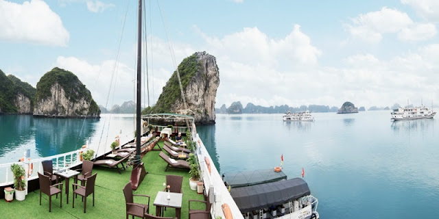Relax with three-day cruise in Halong Bay