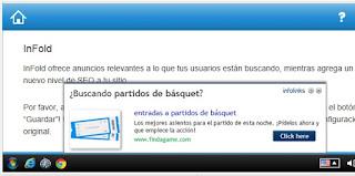 Pantallazo Infolinks - Infold