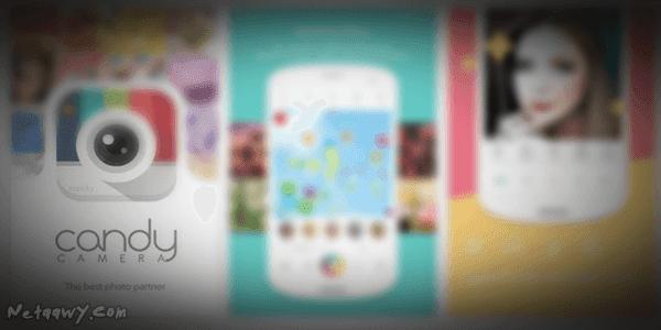 تطبيق-Candy-Camera