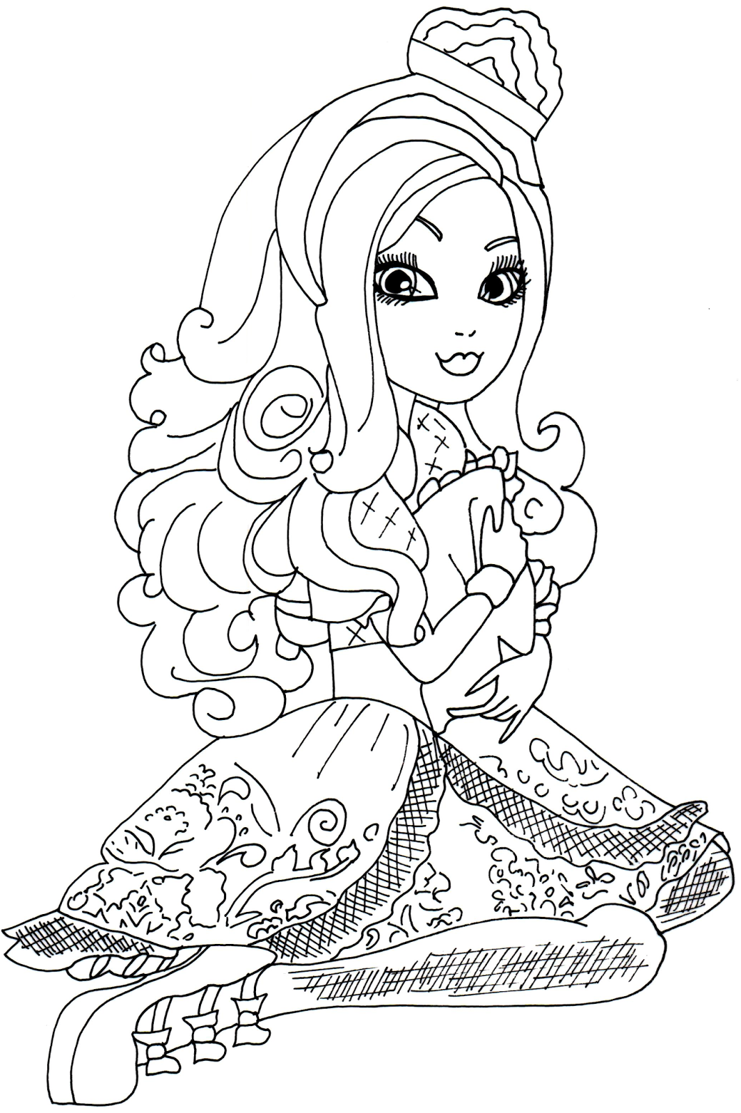 Free Printable Ever After High Coloring Pages Free
