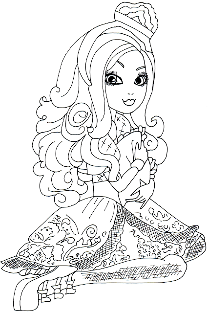 Free Printable Ever After High Coloring Pages: Free