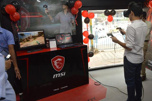Gamers New Destination - MSI Exclusive Store, Kolkata