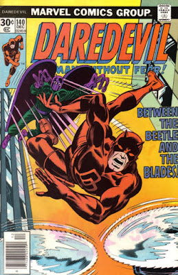 Daredevil #140, the Beetle and the Gladiator
