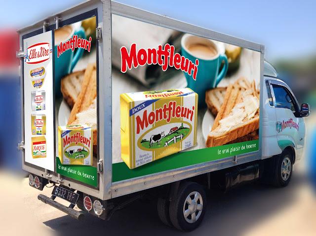 design camion beurre Montfleuri