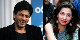 Shahrukh Khan and Mahira Khan