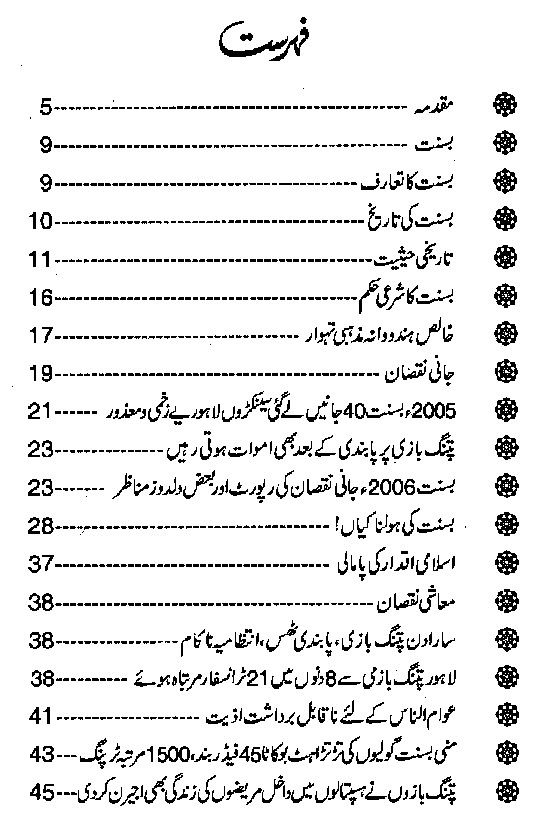 Basant Tehwar Free Download Islamic PDF Booklet