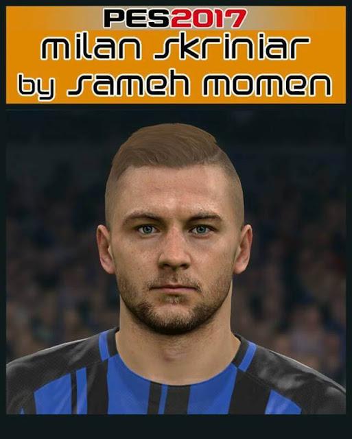 Milan Skriniar Face PES 2017