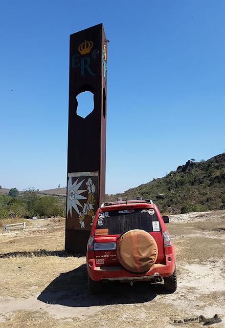 Estrada Real, Caminho Velho, Tiradentes, marco, Santa Cruz de Minas, TR4 Deadpool