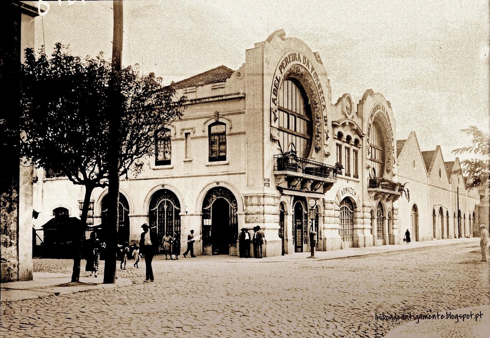 Edifício Abel Pereira da Fonseca  1932  Praça David Leandro da Silva, 1-7   Rua da Cintura do Porto de Lisboa, S N  Rua Amorim, 2-12  Poço do Bispo  4ac8f60f3b