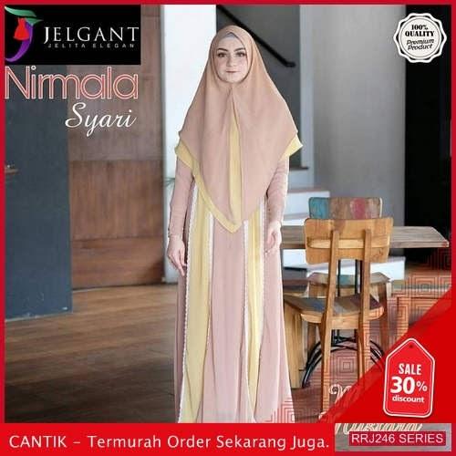 Jual RRJ246S176 Set Nirmala Syari Wanita Wd Terbaru Trendy BMGShop