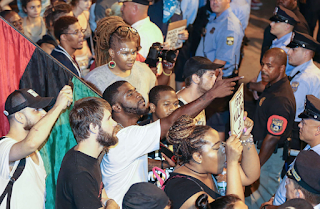 Angry Protesters Aim To 'Disrupt,' 'Shut Down' Outside 24th, 25th Police Districts