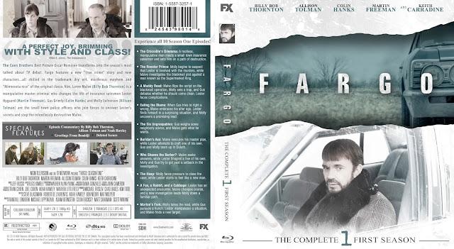 Fargo Season 1 Bluray Cover
