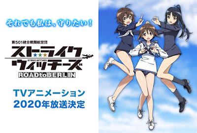 Anime: Anunciados dos nuevos animes para la franquicia Strike Witches