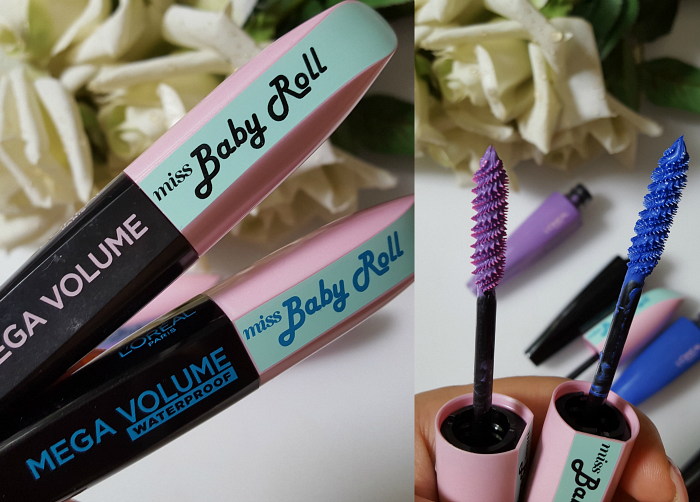 L´Oréal Paris - Summer Makeup Launches 2017 Mega Volume Miss Baby Roll Mascara - je 9.99 Euro - waterproof, indigo, lilac
