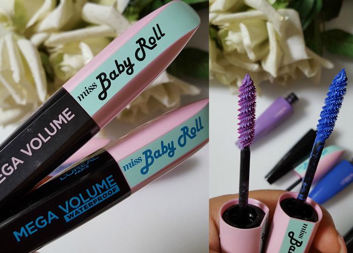 L´Oréal Paris - Summer Makeup Launches 2017 Mega Volume Miss Baby Roll Mascara - je 9.99 Euro - waterproof, indigo, lilac