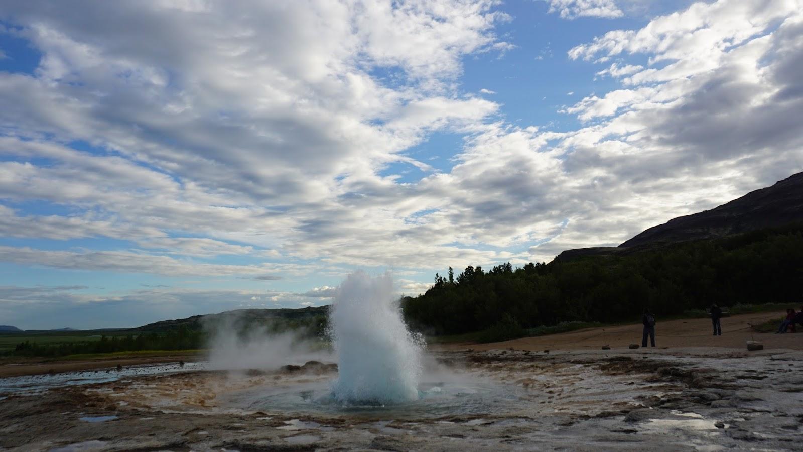 islandzki gejzer, gejzer, atrakcje Islandii, południowa Islandia, Golden Circle