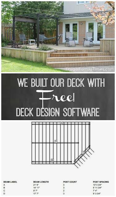 We built a deck free online deck design software for Online deck design