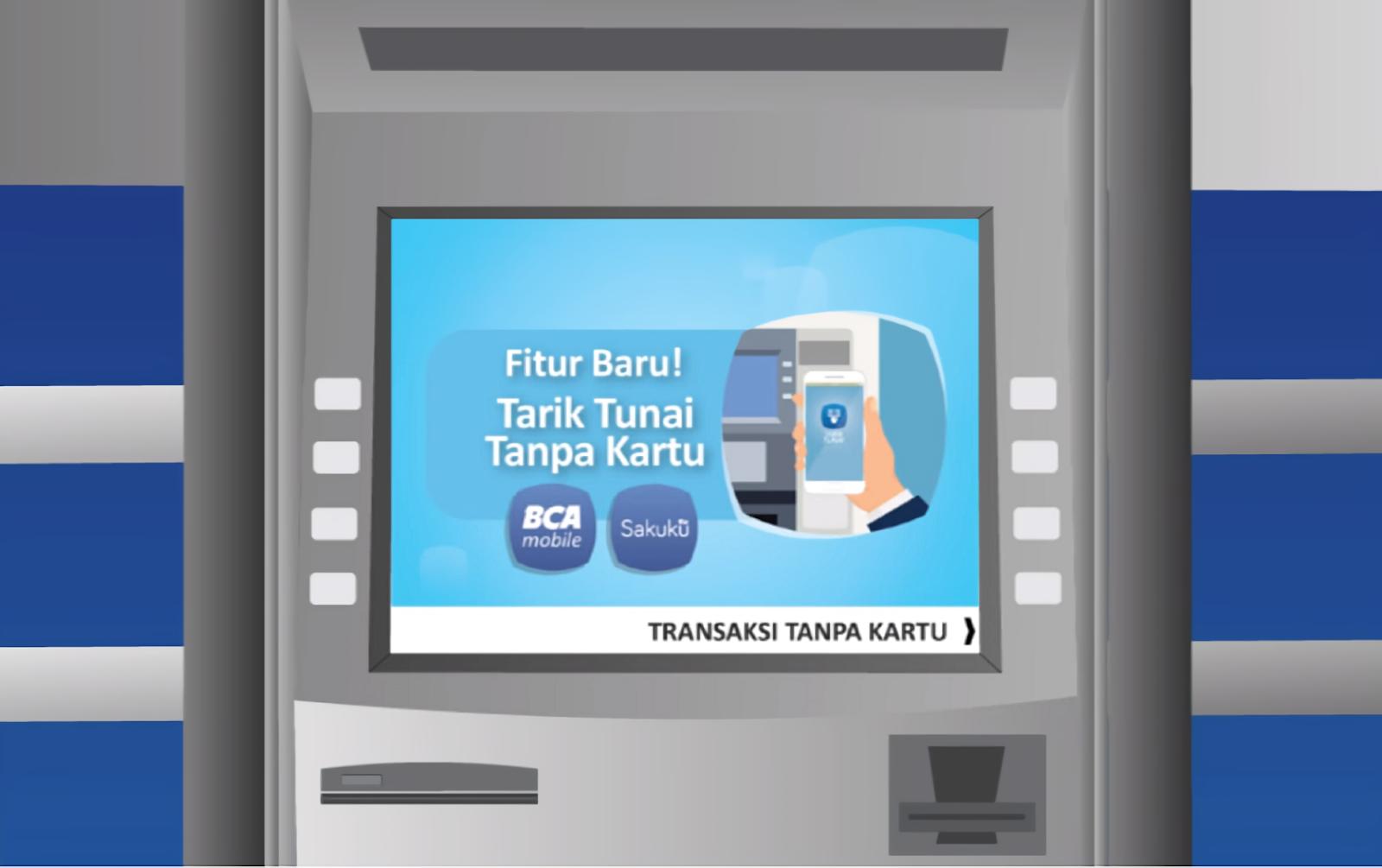 Cara Tarik Tunai / Ambil Uang Tanpa Kartu di ATM BRI, BNI, Mandiri dan BCA