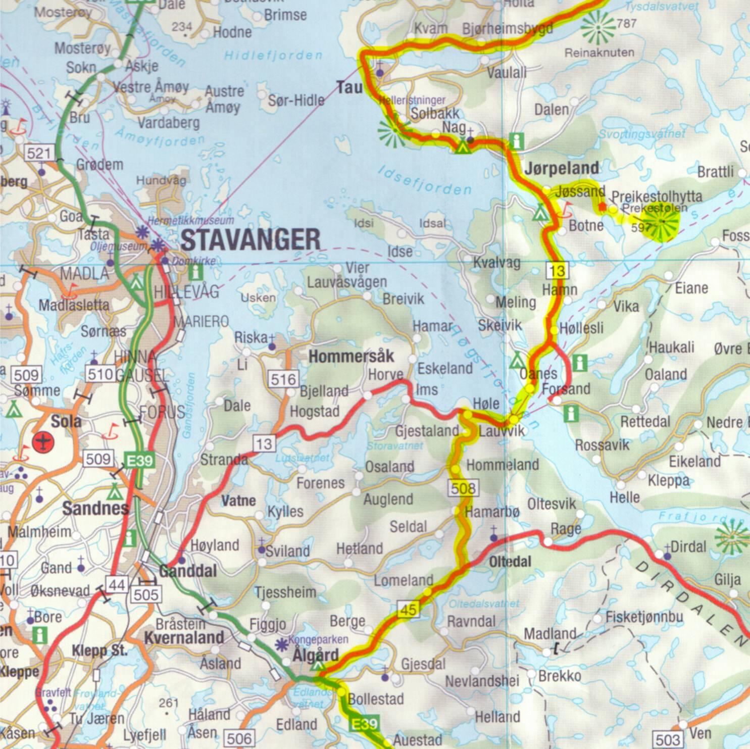 El Sueno Del Motorista Etapa 17a Bergen Stavanger 285 Km Y 7 Horas
