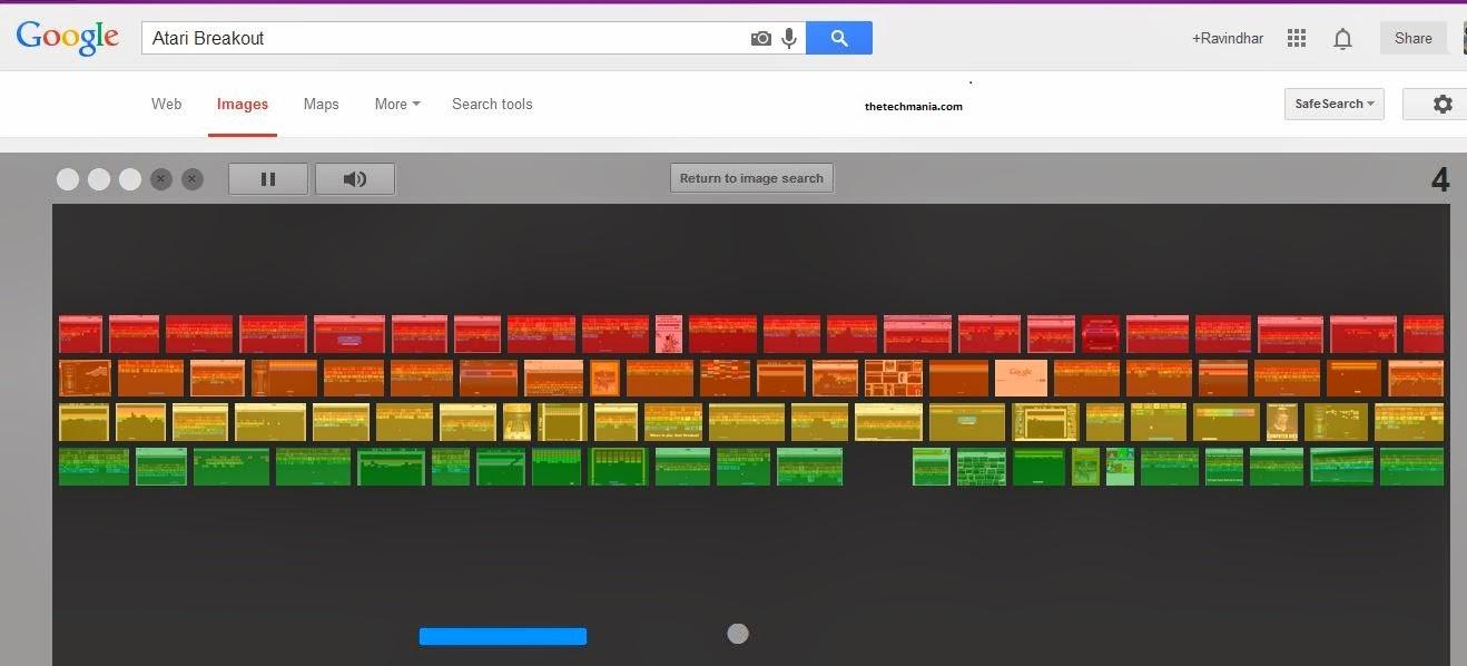 Atari Breakout-Google Tricks