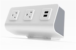 Desktop Power Attachment with AC and USB Inputs