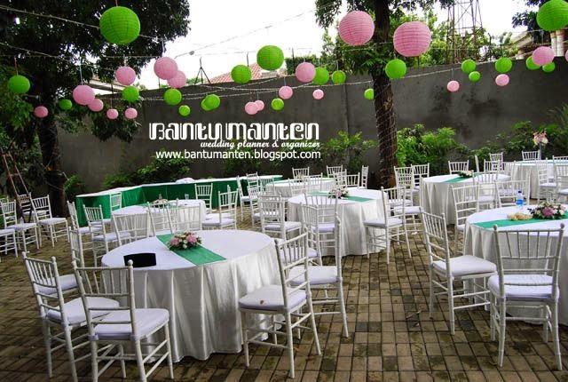 Chirp Tempat Resepsi Venue Outdoor Di Jakarta Part 3: Wedding Garden Party Di Jakarta