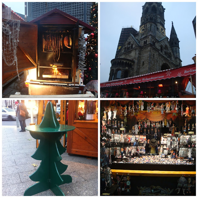 Mercado de Natal - Christmas Market at the Kaiser Wilhelm Memorial Church, Berlim