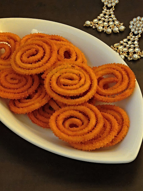 Sweet potato Murukku