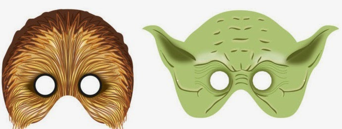 photo relating to Star Wars Printable Mask referred to as Star Wars Totally free Printable Masks. - Oh My Fiesta! in just english