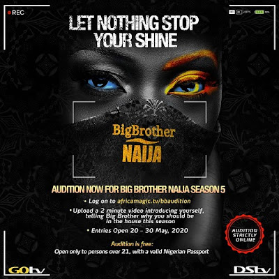 Big Brother Naija 2020 Audition Season 5