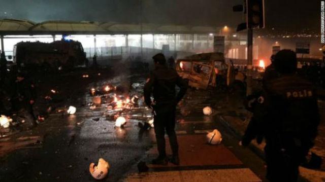 Μακελειό στην Κωνσταντινούπολη: Τουλάχιστον 29 νεκροί και 166 τραυματίες από την διπλή βομβιστική επίθεση