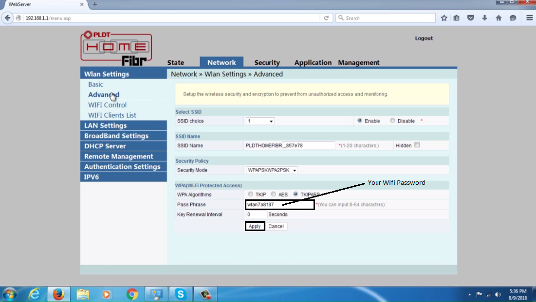 How to Change PLDT Home Fibr Wifi Password - TechProbSolution